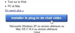 Installer plugin chat vidéo Google+
