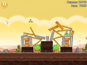 Angry Birds application