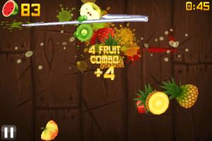 Jeu gratuit Fruit Ninja
