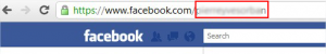 Identifiant Facebook