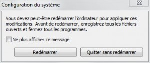 Démarrage automatique Facebook Messenger