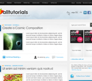Screenshot Thème Wordpress