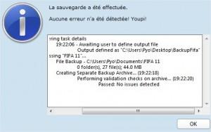 Backup Fifa