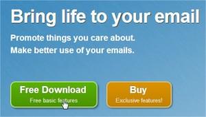 Signature Email avec Wisestamp