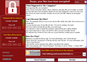 virus wannacrypt