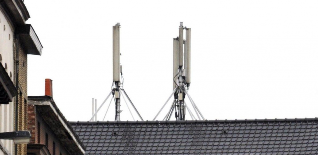 antenne 5g bruxelles