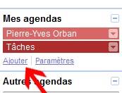 Ajouter un agenda sur Google Agenda