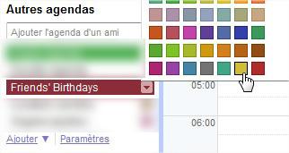 Google Agenda Anniversaires Facebook