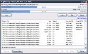 Augmenter vitesse transfert de fichiers