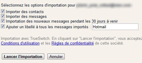 Trueswitch Gmail