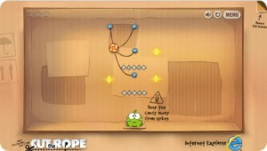 Jeux Android Cut the Rope