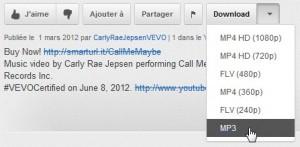 Télécharger musique vidéo youtube