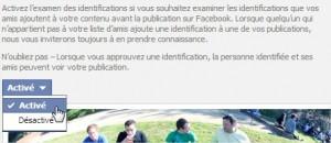 Identification Facebook