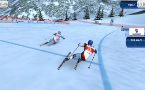 Jeu ski Iphone