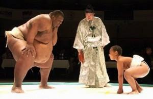 Sumo vs Kid