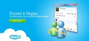 MSN Messenger vers Skype