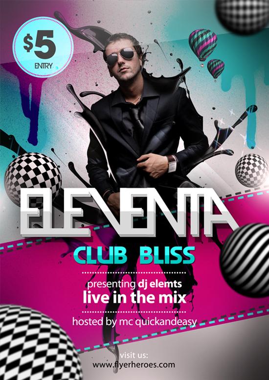 Eleventa affiche electro