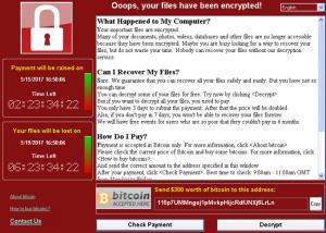virus wannacrypt