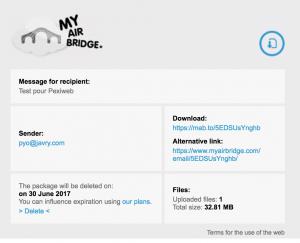 myairbridge email
