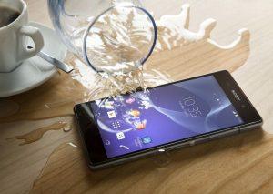 GSM tombé dans l'eau
